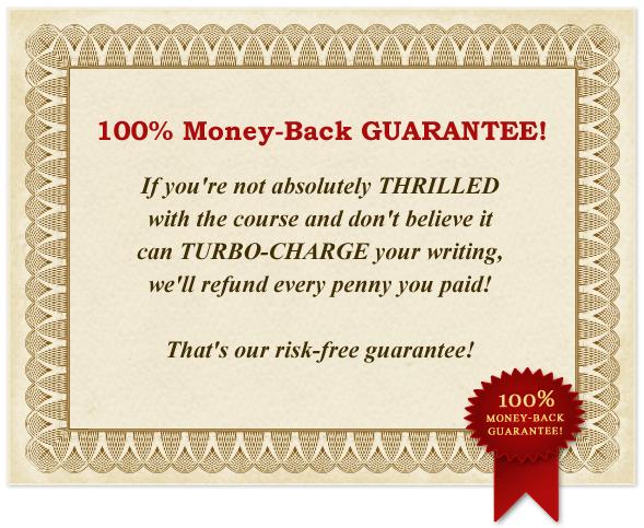 100% Money-Back Gurantee!