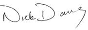 Nick Daws Signatures
