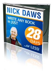 Nick Daws CD, How to Writing a Book, Write Your Own Book